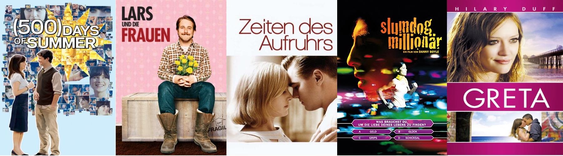 Die besten Liebesfilme 2009 - Top 10