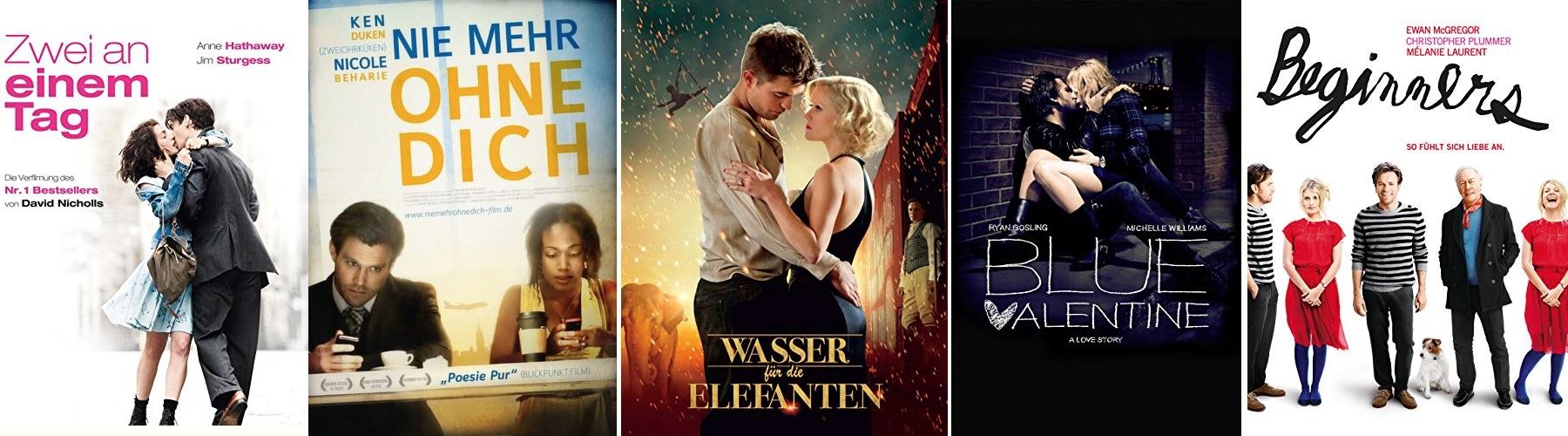 Top 10 der besten Liebesfilme 2011