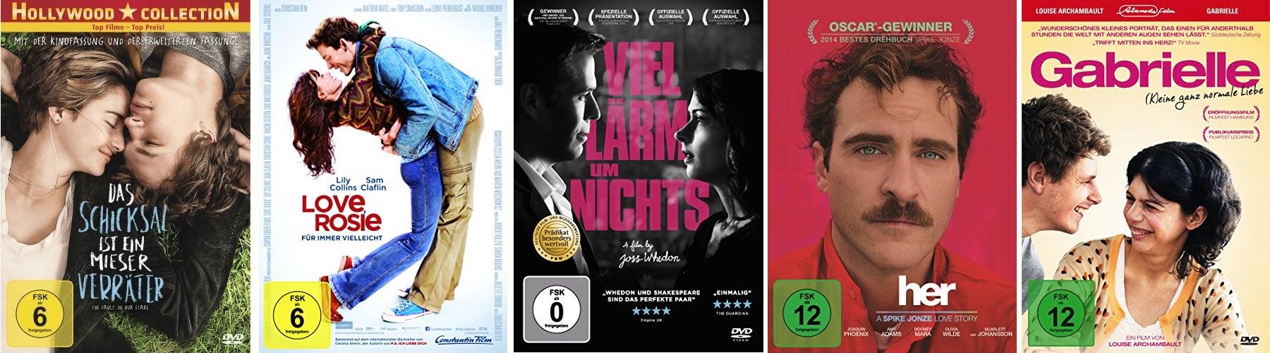 Die besten Liebesfilme 2014
