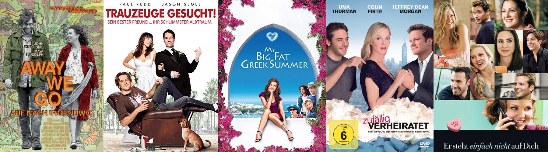 Die besten Liebeskomödien 2009 - Top 10