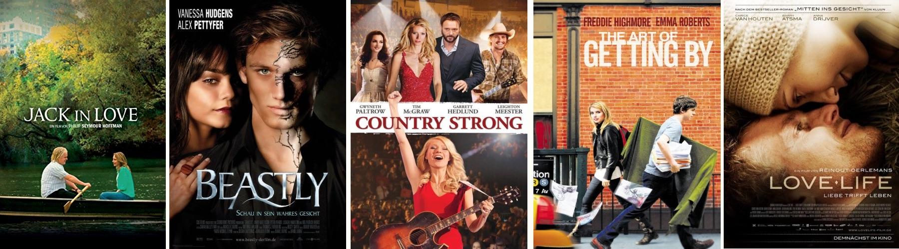 Alle Liebesfilme des Jahres 2011