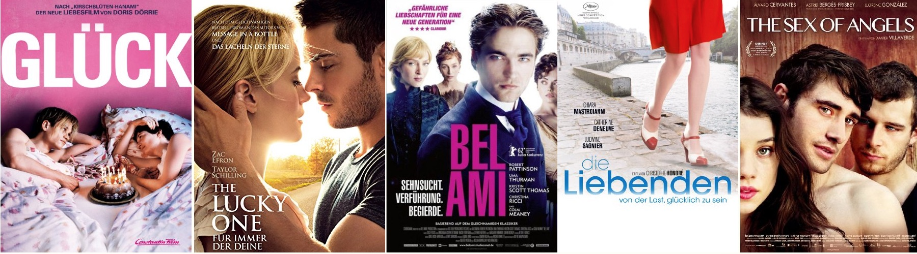Alle Liebesfilme des Jahres 2012