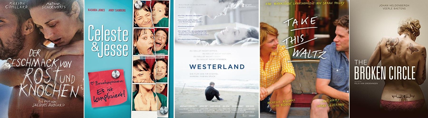 Alle neuen Liebesfilme 2013