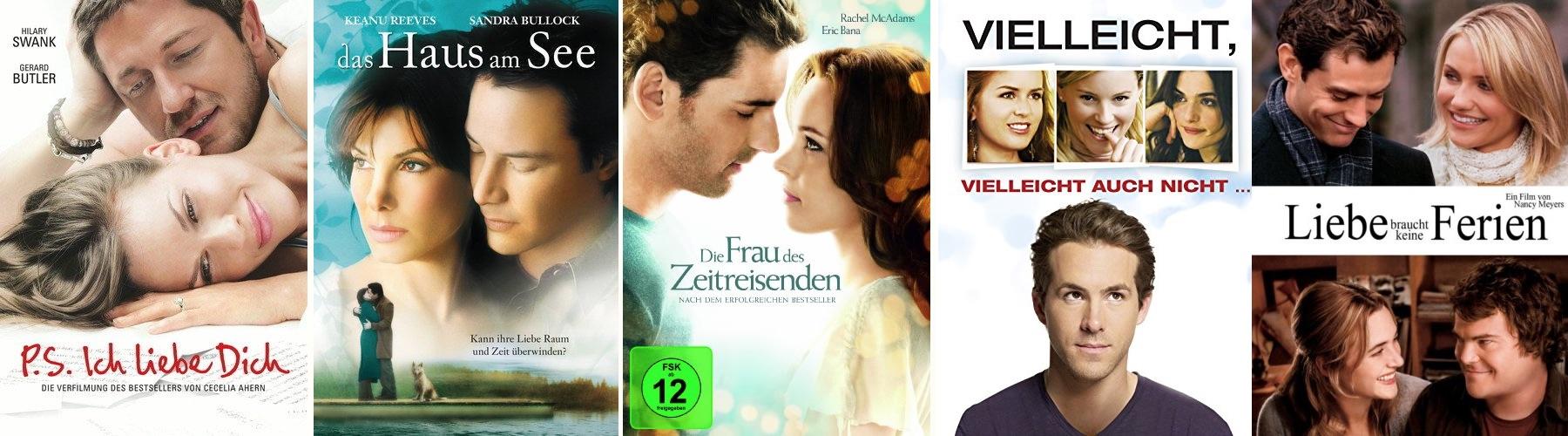Liebesfilme für einen Filmabend
