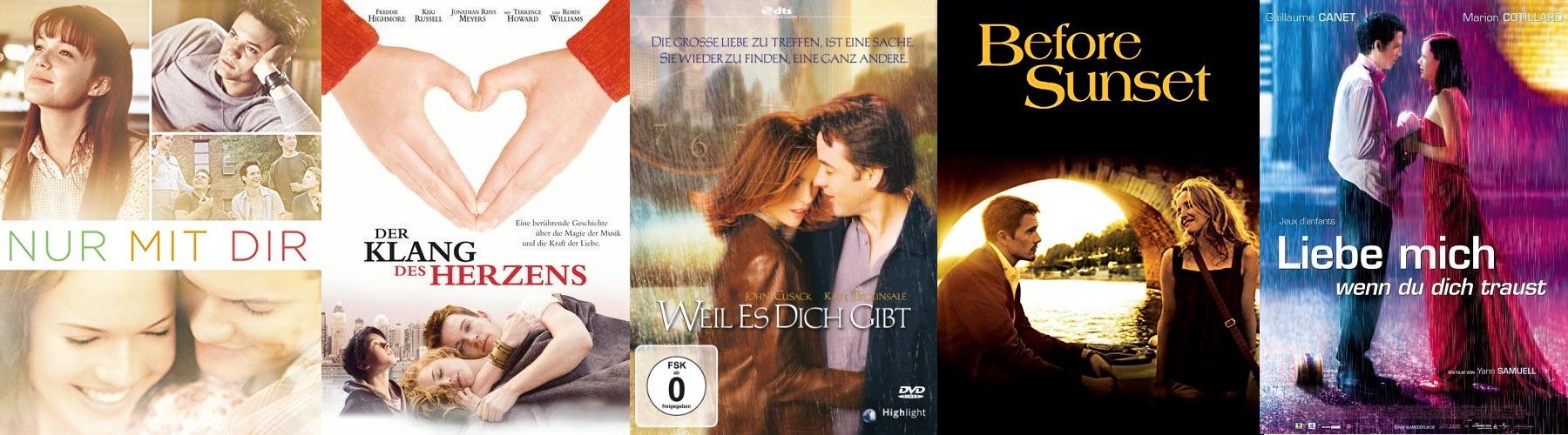 Ultimative Liebesfilme zum Valentinstag