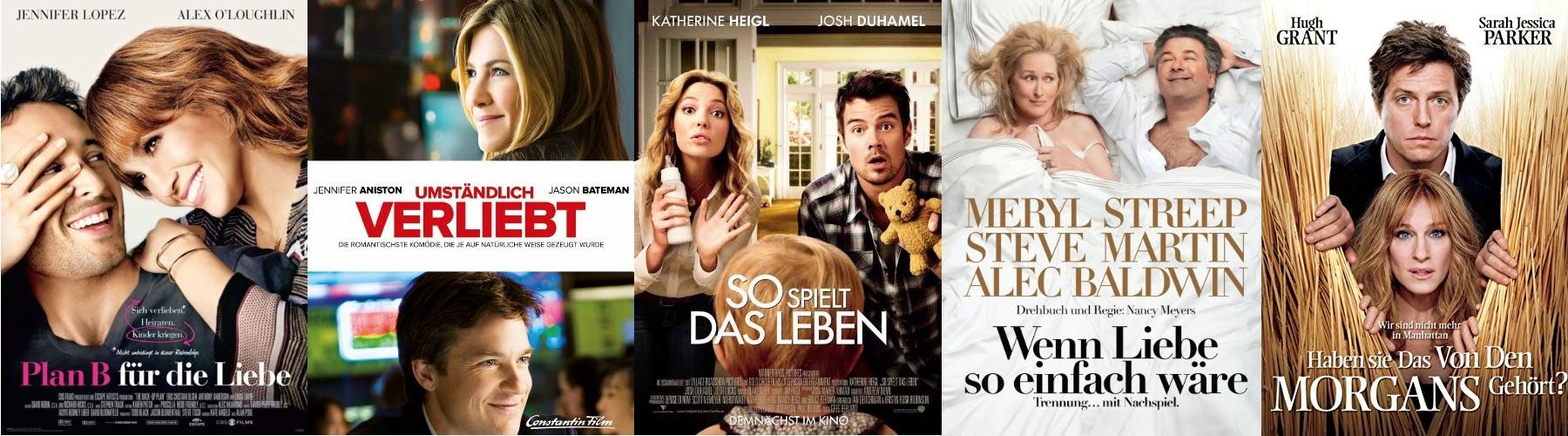Die besten Liebeskomödien 2010