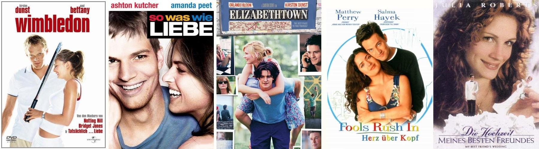 Romantische Filme für einen gemütlichen Abend zu Zweit