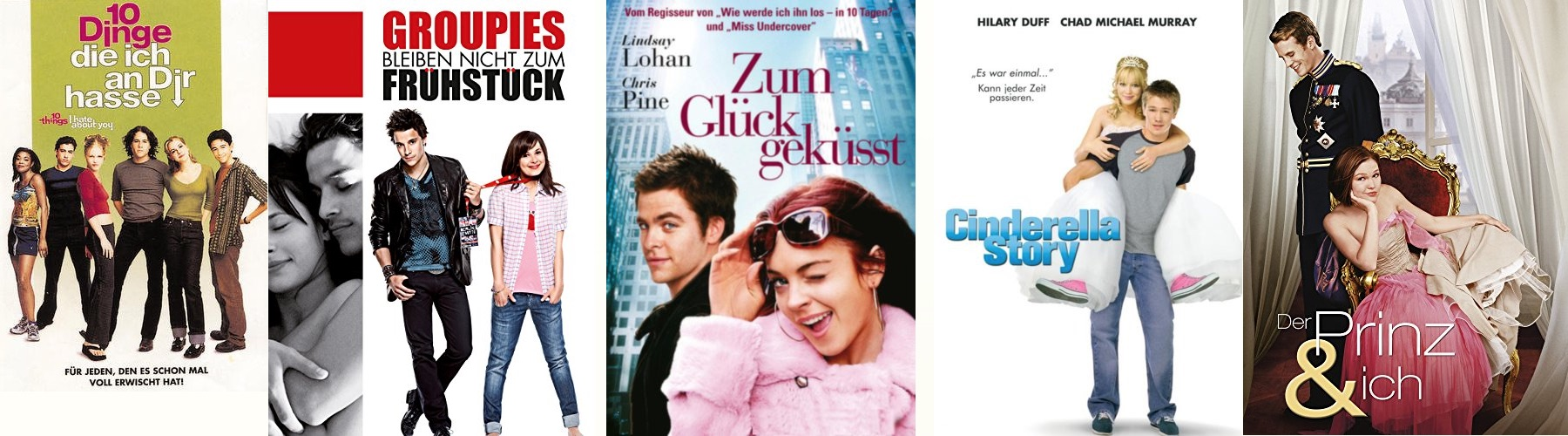 Romantische Teenagerfilme - Top 10